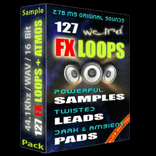 127 weird samples FX pack