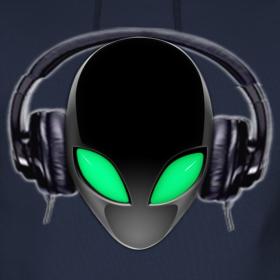 Alien DJ Music Lover Design