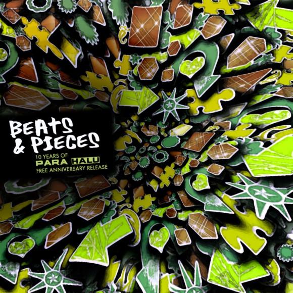 Para Halu Beats n Pieces Album Cover Art