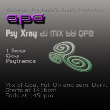 Psy Xray dj mix by QPA 01 Cover Art